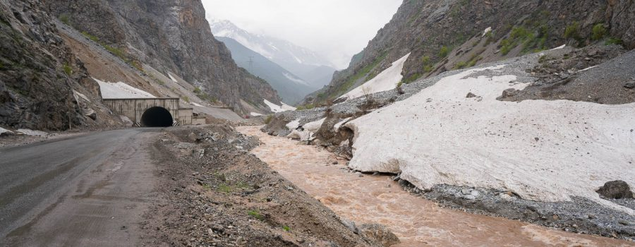 Day 44: Exploding Tubes, Mountain Passes and Rain