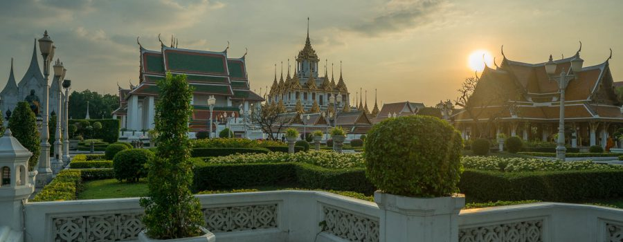 Loha Prasart Temple in Bangkok