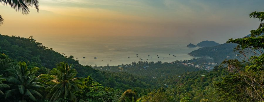 Sunset at Two View Point