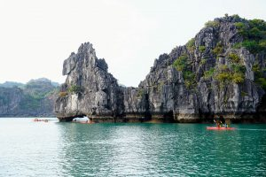 Some more Kayakers at Halong Bay
