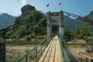 Toll Bridge near Vang Vieng