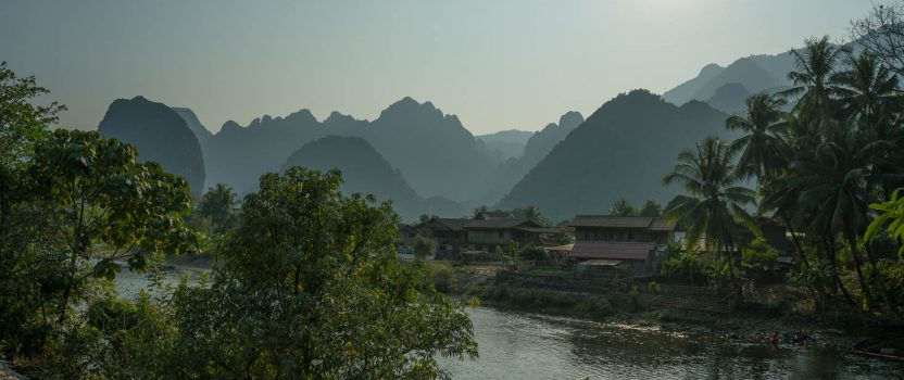 Exploring Caves and the Mountains in Vang Vieng