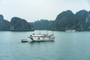Other Boats at Halong Bay