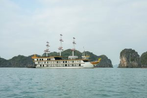 Dragon Legend at Halong Bay
