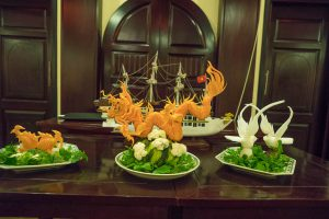 Food Art at Halong Bay