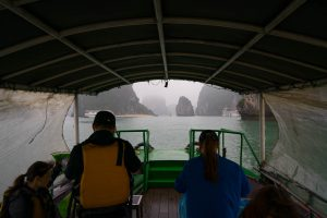 On the Boat at Halong Bay
