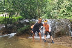 Jacey and Me on Tu Lan Expedition