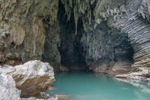 Ken Cave Entrance on Tu Lan Expedition