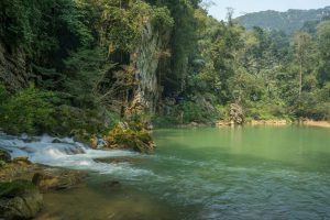 Jungle Lagoon on Tu Lan Expedition