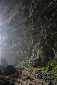 Tien 1 Cave Entrance on Tu Lan Expedition