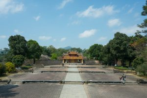Tomb of Minh Mang near Hue