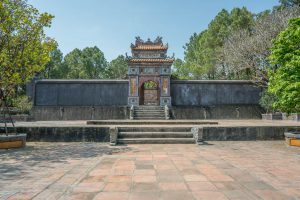 Tomb of Tu Duc near Hue