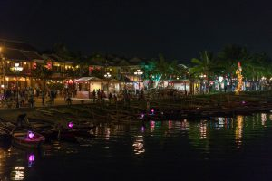 Old Town at Night in Hoi An
