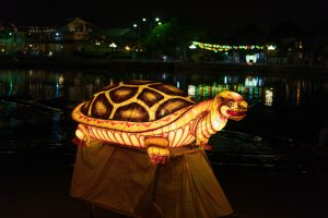 Angry Turtle Lantern in Hoi An