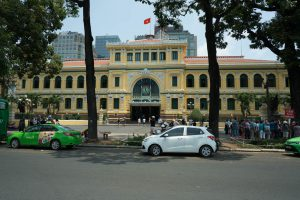 Main Post Office in Ho-Chi-Minh-City