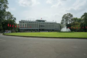 Independence Palace in Ho-Chi-Minh-City