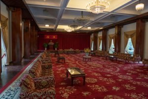 Inside Independence Palace in Ho-Chi-Minh-City