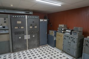 Old Communication Bunker in Ho-Chi-Minh-City