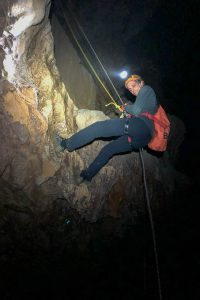 Abseiling on Tu Lan Expedition