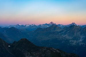 Nufenen Pass and Bernese Alps